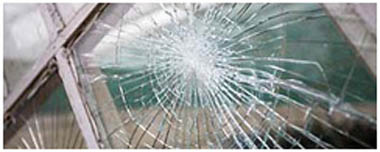 Street Smashed Glass